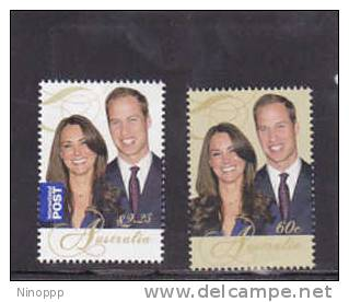 Australia-2011 Royal Wedding Set MNH - 2010-... Elizabeth II