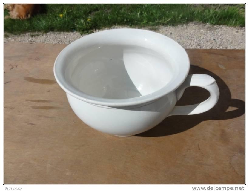 Pot De Chambre Porcelaine Sarreguemines Alsace - Sarreguemines (FRA)