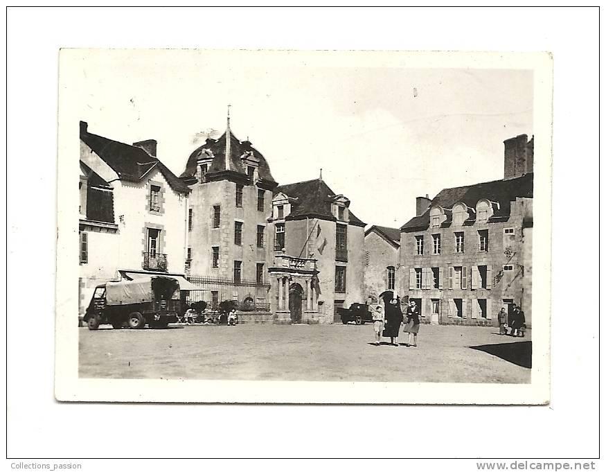 Photos, Lieux, Le Croisic (44), L'Hôtel De Ville, Dim : 9 X 6.5 Cm - Lieux