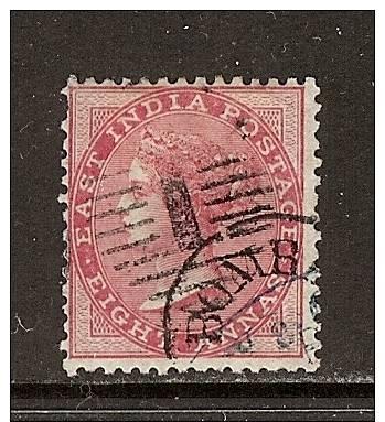 Inde Anglaise  1865-73  Yvert  25  (o)  Used  Cote: 7.00 - India (...-1947)