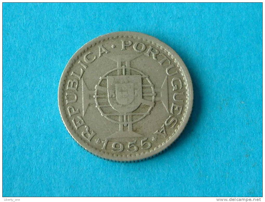 1955 - 2 $ 50 ESCUDOS / KM 78 ( For Grade, Please See Photo ) ! - Mozambique