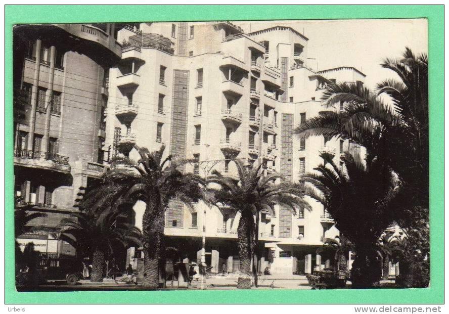 """CPSM Maroc Casablanca """"avenue Poeymirau"""" - Casablanca"""