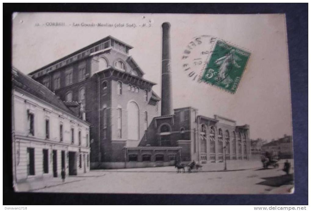 CORBEIL (Essonne) Les Grands-Moulins (côté Sud) H. S. 12 - état - Corbeil Essonnes