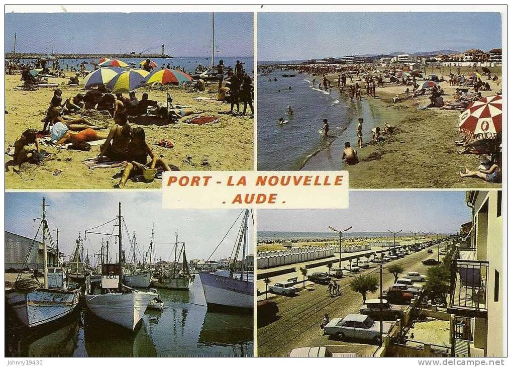 25608 - PORT LA NOUVELLE ( 4 VUES ) LA PLAGE - LA PLAGE EST LES CABANONS - L'ACTIVITE DU PORT... - Port La Nouvelle