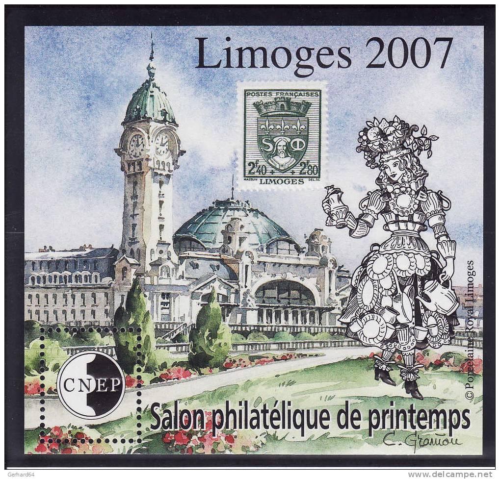 Bloc CNEP N° 48 - Salon Philatélique De Printemps - Limoge 2007 - Neuf** Luxe - CNEP
