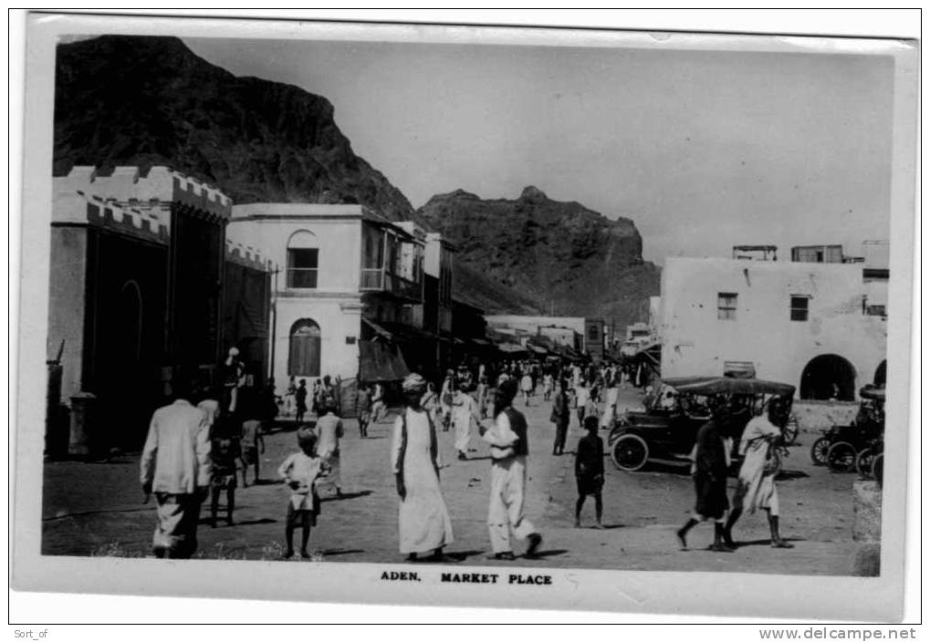 (REAL PHOTO) ADEN - MARKET PLACE  - A 657 - Yemen