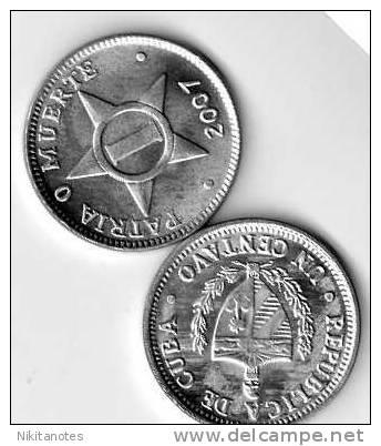 CUBA COIN 1 CENTAVO 2007 - Cuba
