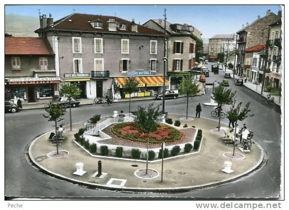 N°12541 -cpsm Annemasse -la Place Nationale- - Annemasse