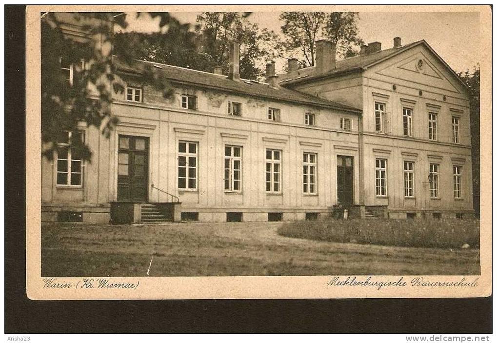 Germany, Mecklenburgische Bauernschule - School - Warin - Kr. Wismar - Germany