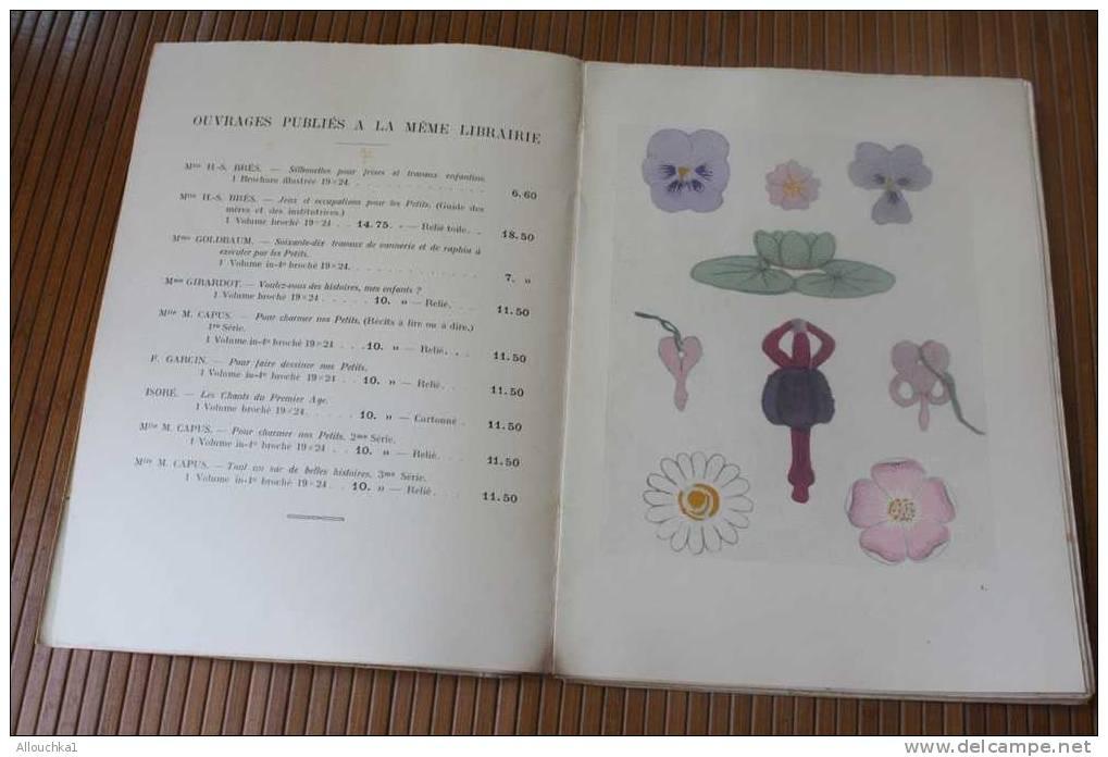 BROCHURE LOISIRS CREATIFS  1932 POUR PIQUETER ET DECHIQUETER à ECOLE MATERNELLE & FAMILLE > FERNAND NATHAN 50 PAGES 25.5 - Loisirs Créatifs