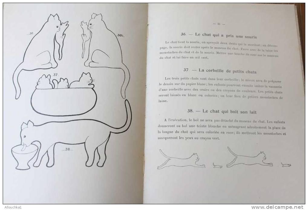 BROCHURE LOISIRS CREATIFS  1932 POUR PIQUETER ET DECHIQUETER à ECOLE MATERNELLE & FAMILLE > FERNAND NATHAN 50 PAGES 25.5 - Non Classés