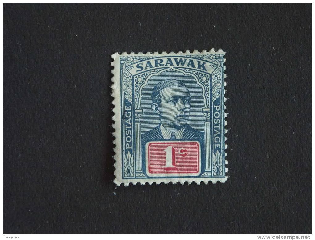 Maleisië Malaya Malaysia Sarawak 1918-23 Sir Charles Vyner Brooke  Yv 48 MH * - Sarawak (...-1963)