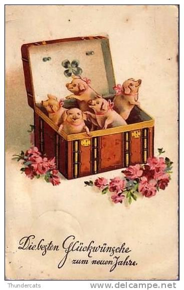 CPA COCHON COCHONS** PIG  PIGS** VARKEN  VARKENS - Cochons