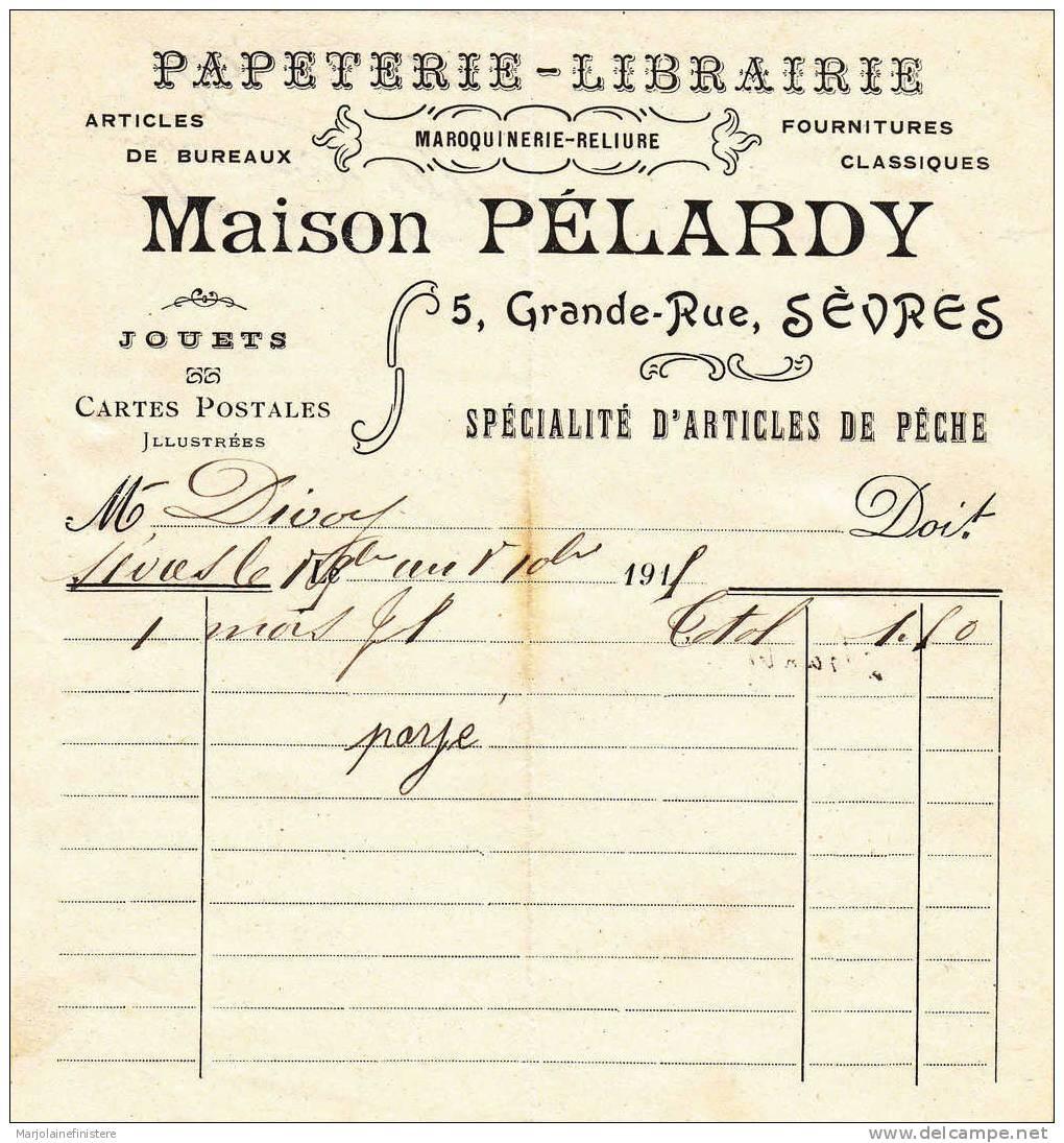Maison Pélardy, Sèvres. 1915 - 1900 – 1949