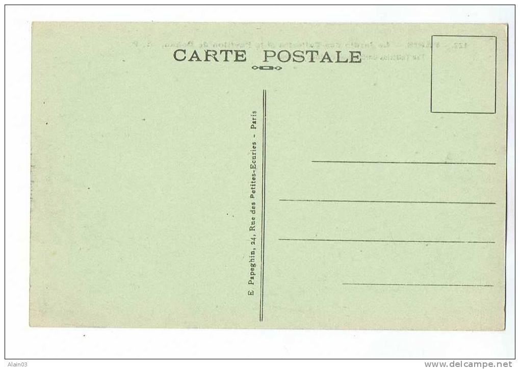 CPA - 75 - PARIS - Le Jardin Des Tuileries Et Le Pavillon De Rohan - A.P. 122 - Parcs, Jardins