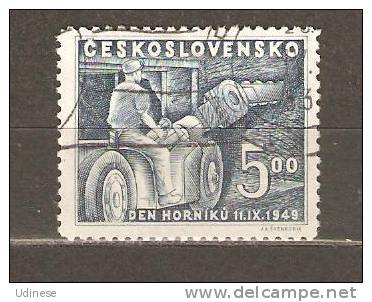 CZECHOSLOVAKIA 1939 - 700 YEARS MINING 5.00 - USED OBLITERE GESTEMPELT - Gebruikt