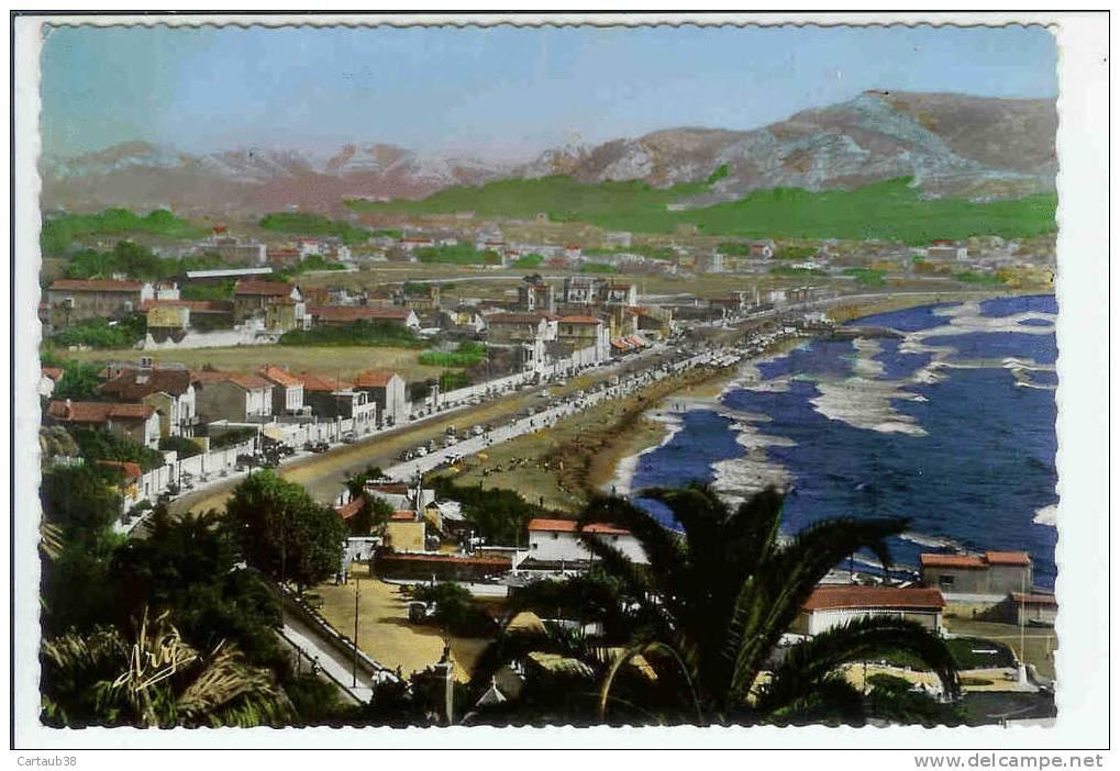 13  MARSEILLE  Promenade De La Corniche Vers Bonneveine-La Plage - Quatieri Sud, Mazarques, Bonneveine, Pointe Rouge, Calanques