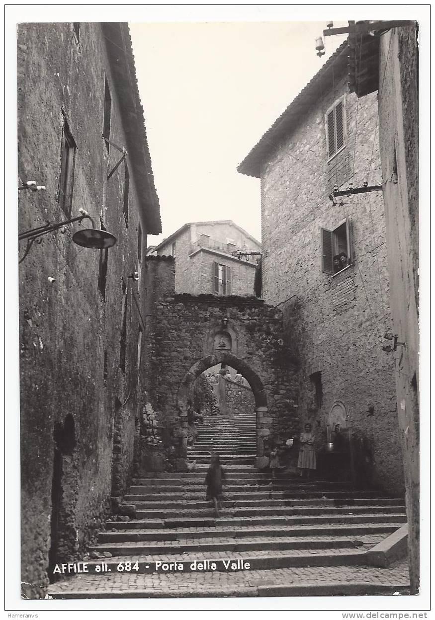 Affile - Porta Della Valle - Roma - Animata - H1262 - Italie