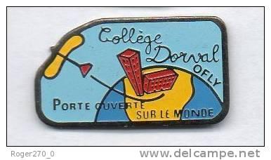 Ville D' Orly ( Ofly ) Et Le Collége Dorval , Avion - Städte