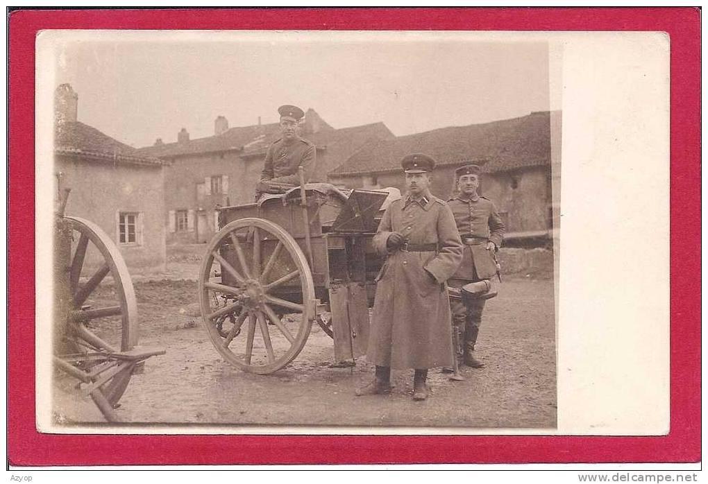 EST De La FRANCE - CARTE PHOTO à Localiser - Militaires Allemands - Guerre 14/18 - FELDPOST - Guerra 1914-18