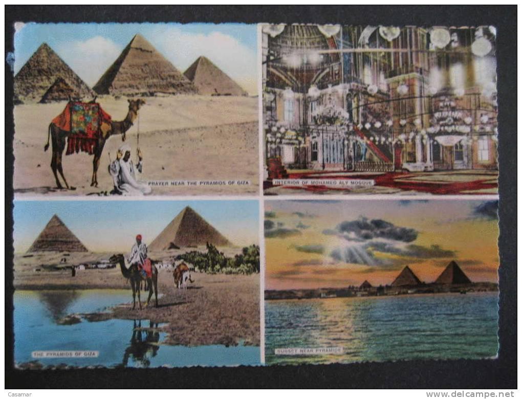 EGYPT EGYPTE Pyramid Pyramide Giza Mosque Archeology Archeologie Prehistory Prehistoire Art Arqueologia Prehistoria - Historia
