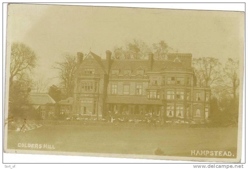 (REAL PHOTO) HAMPSTEAD - GOLDERS HILL -  A723 - London Suburbs
