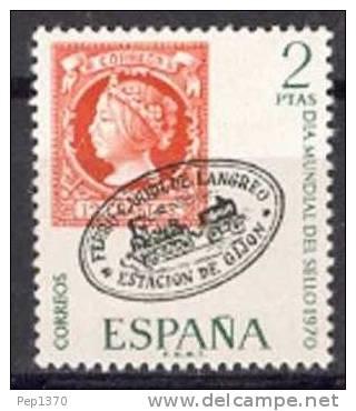 ESPAÑA 1970 - DIA DEL SELLO - EDIFIL Nº 1974 - YVERT 1623 - Journée Du Timbre