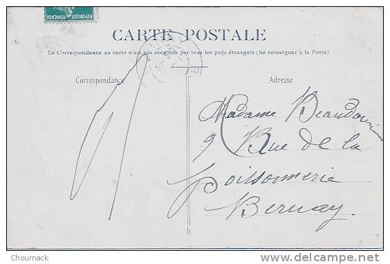 51 PRUNAY 1908 BOURG ET EGLISE - France