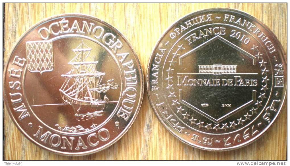Monaco Musee Oceanographique 2010 Le Bateau Monnaie De Paris - Non Classés