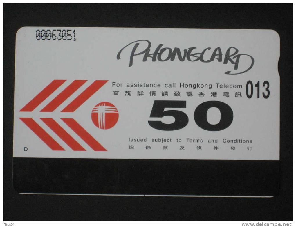 HONG KONG - 50 UNITS - USATA USED - Telefoni