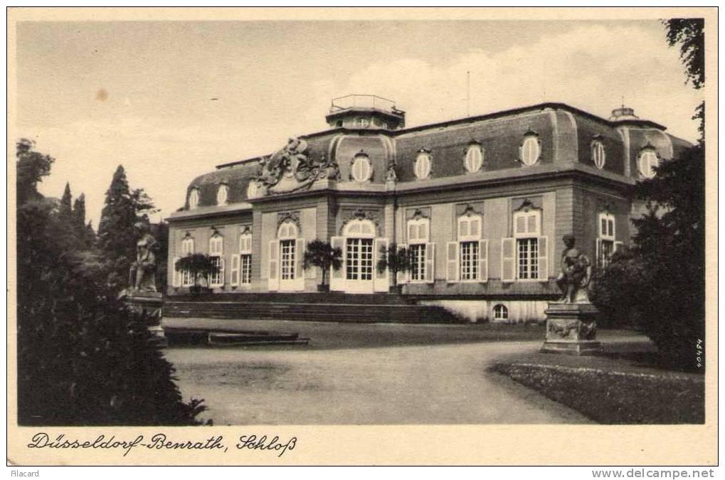 15926    Germania,    Dusseldorf-Benrath,  Schloss,  NV - Duesseldorf