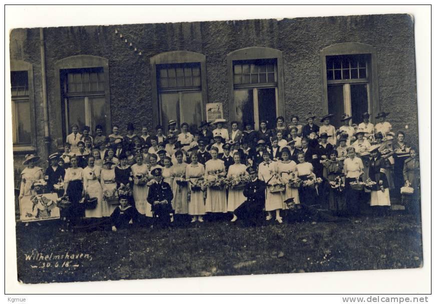 AK Originalfoto Wilhelmshaven 30. Juni 1918 - Wilhelmshaven