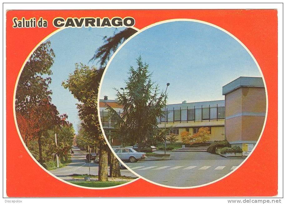 Z1239 Saluti Da Cavriago (Reggio Emilia) - Multipla / Non Viaggiata - Italie