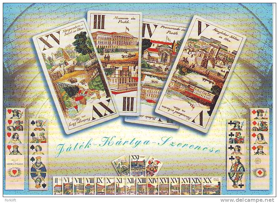 Game, Card, Chance, Hungarian Entier Postal Stationery - Spiele