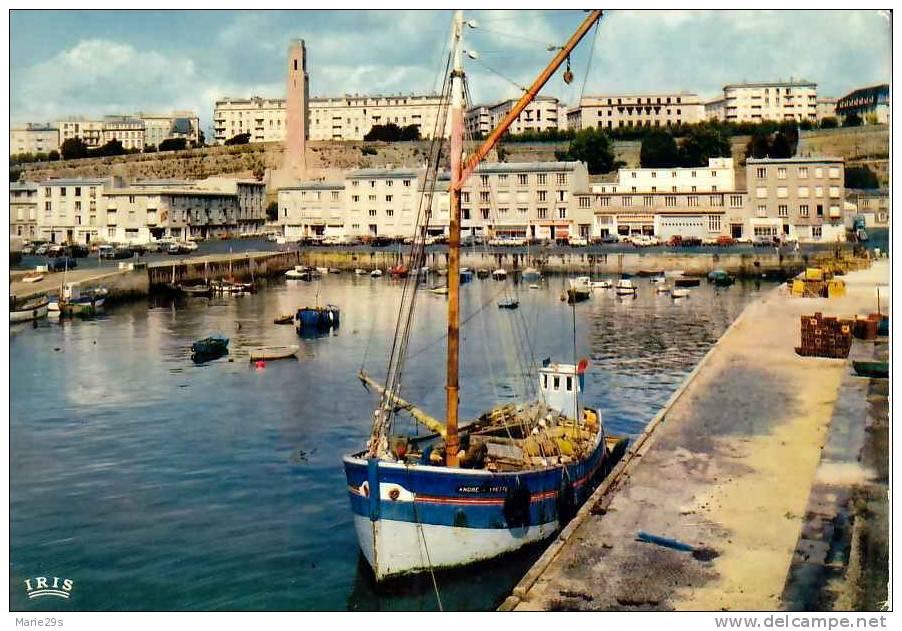 29 BREST  Port De Commerce , Chalutiers - Brest