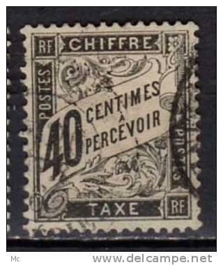 France Taxe N°  19 Oblitéré °  . - 1859-1955 Oblitérés