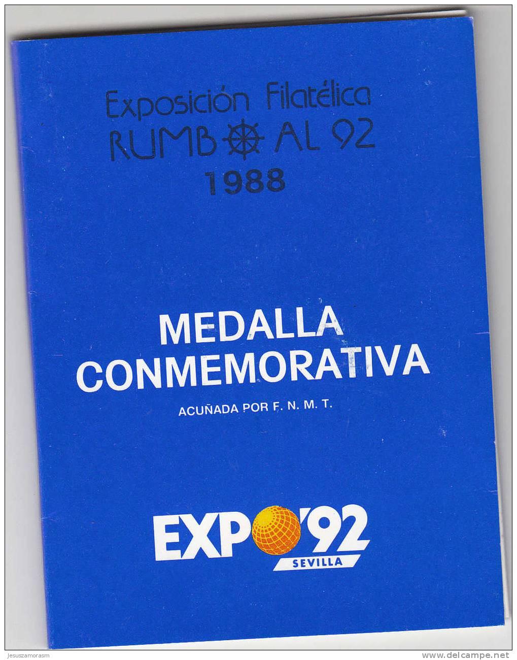España Medalla Conmemorativa Expo 92 - Espagne
