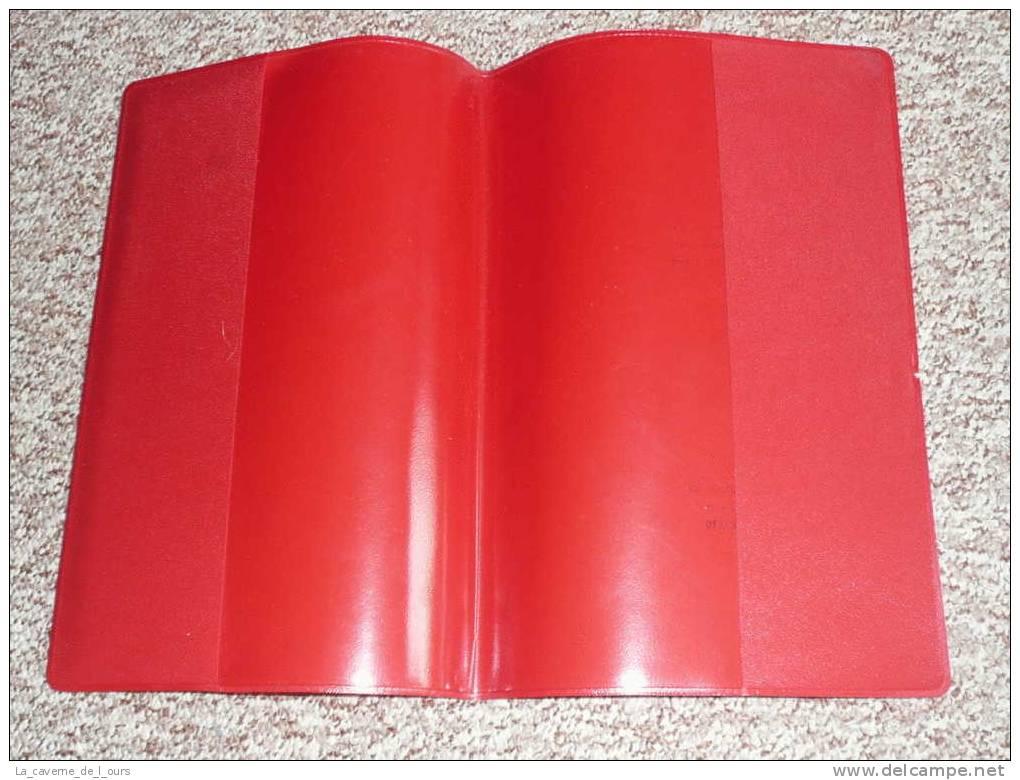 Rare Ancien Protège-cahier Publicitaire En Plastique Pour La Marque COCA-COLA - Protège-cahiers