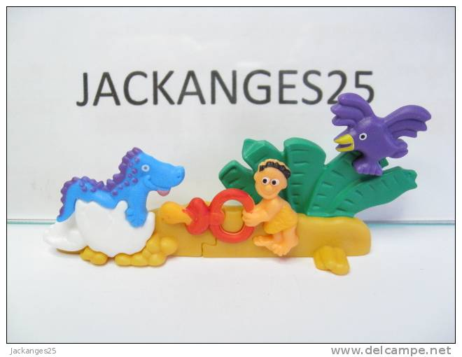 KINDER PUZZLE PLASTIC K00 N 9 1997 SANS OHNE WITHOUT BPZ - Puzzles