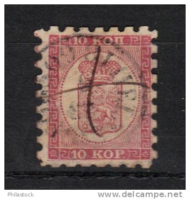 FINLANDE N° 4 Obl . Perf T I - Used Stamps