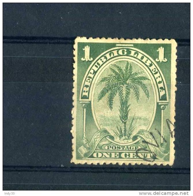 - LIBERIA 1900 . OBLITERE - Liberia
