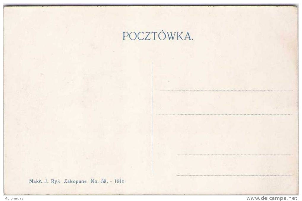 POLOGNE - Widok Z Przyslupu Na Czerwone Wierchy - Polonia