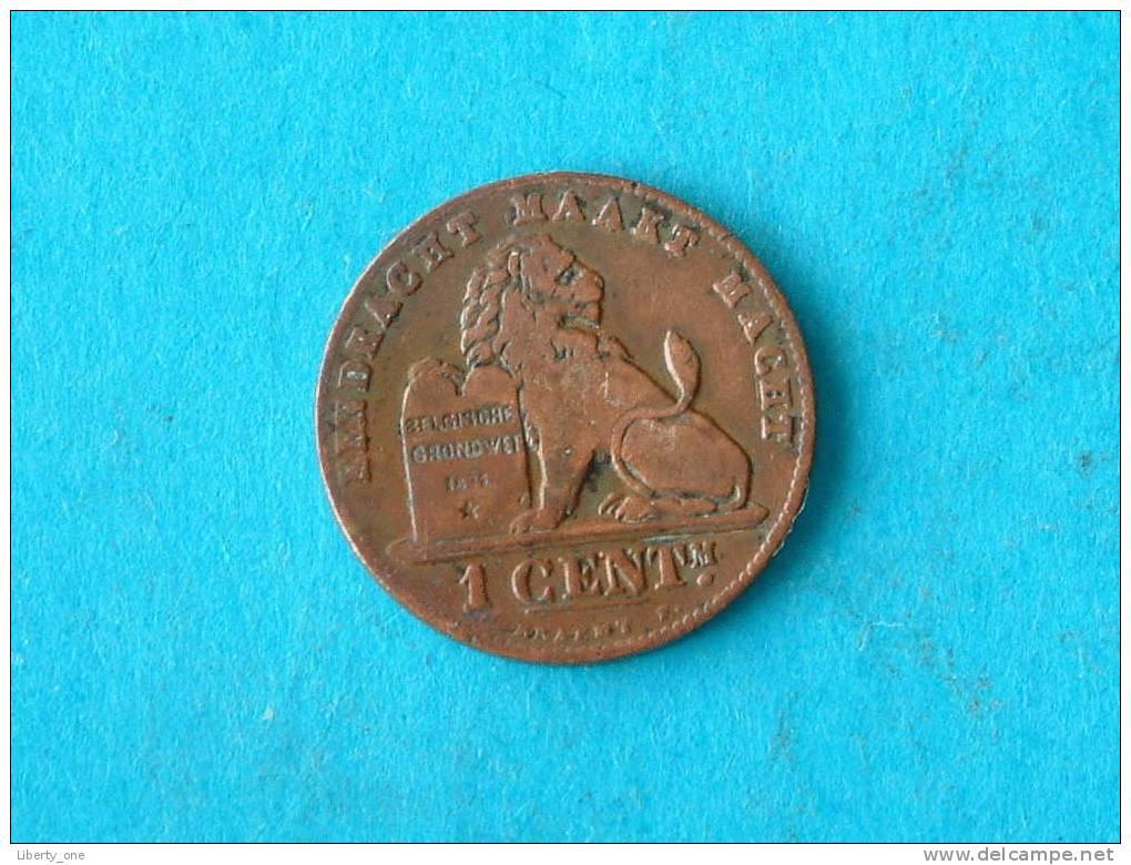1894 VL - 1 CENT. / Morin 227 ( For Grade, Please See Photo ) !! - 1865-1909: Leopold II