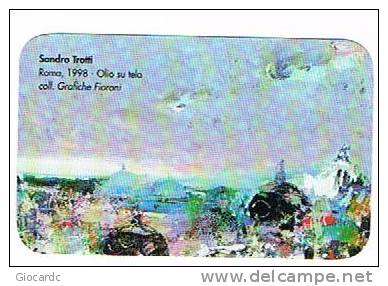 CALENDARI TASCABILI - 2003  GRAFICHE FIORONI (SANDRO TROTTI: ROMA 1998 OLIO SU TELA) - Formato Piccolo : 2001-...