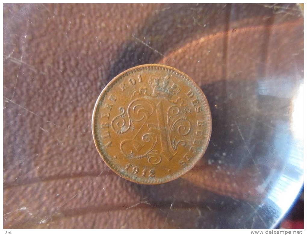 BELGIQUE  1912- 2 CENT -SPLENDIDE PIECE - VOIR PHOTO - 02. 2 Centimes