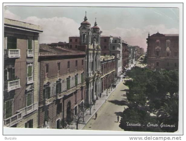 Taranto - Corso Gramsci - Animata - - Taranto