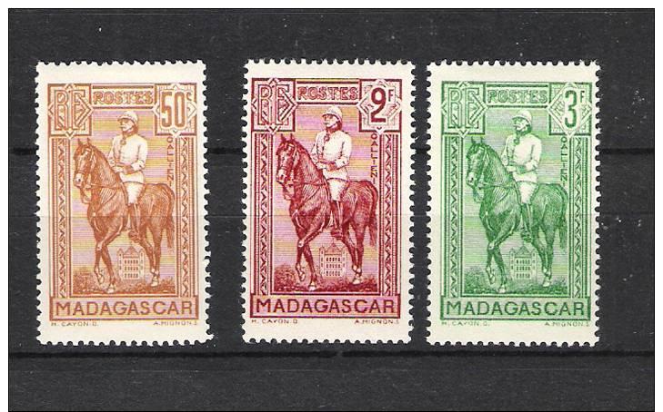 Madagascar 190/92* - Madagascar (1889-1960)