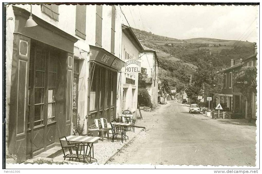 CPSM  SAINT SERNIN SUR RANCE, Route De St Affrique, Hôtel Restaurant  4026 - Non Classificati