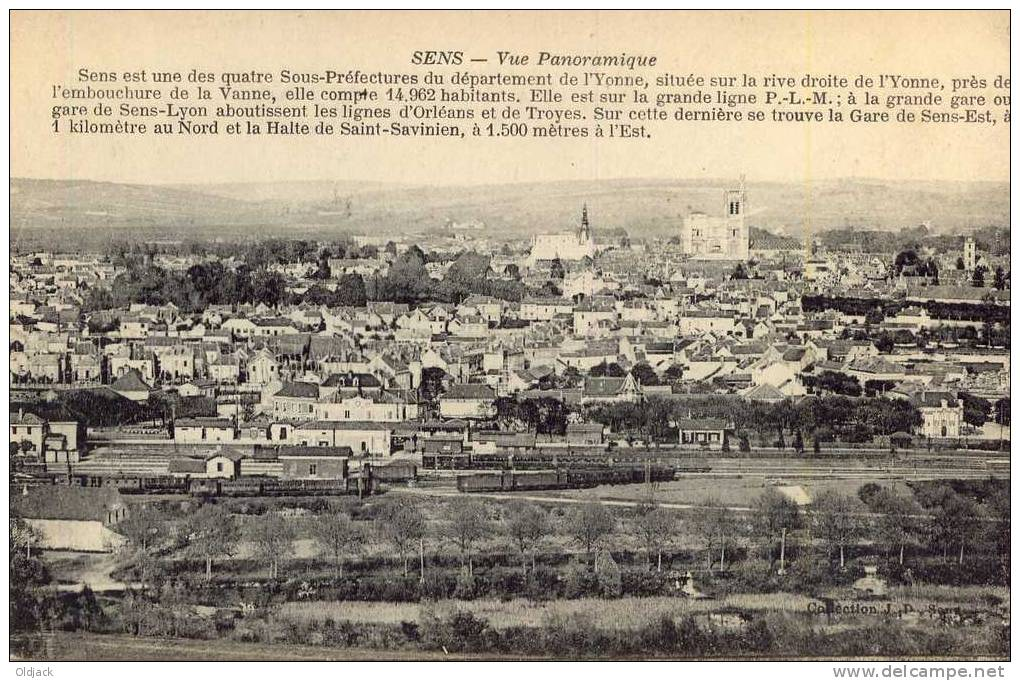 SENS Panorama - Sens