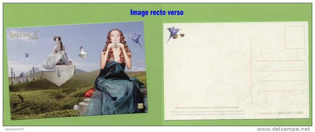 Carte Postale Postcard SPECIAL T Thé Tea FRANCE - Werbepostkarten